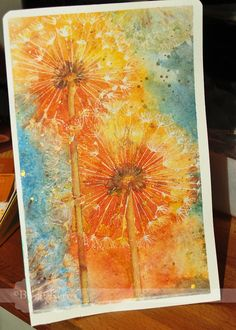 Birgit's Daily Bytes: Catching up on some Art Journaling!     - so beautiful. Great place for art journaling inspiration