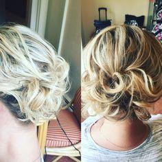 Updo #updo #weddinghair #bridalhair #hair #prom