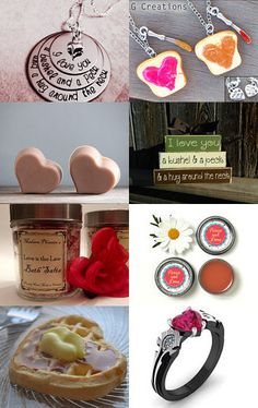 Mother Gifts by Gabbie on Etsy #etsy #treasury #pink #mothersday #hearts #love