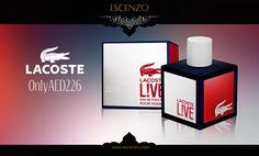 Get Lacoste Live for men on our price 226 AED. Order: http://escenzo.com/lacoste/lacoste-live-edt-100ml  احصل على عطر لاكوست لايف للرجال بسعر 226 فقط من متجر اسنزو الالكتروني على الرابط http://escenzo.com/lacoste/lacoste-live-edt-100ml