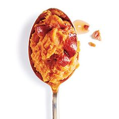 Maple Bacon Mashed Sweet Potatoes Recipe
