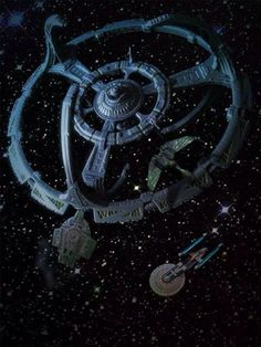 Space Frontier Deep space nine. Star Trek Starships, Star Trek Enterprise, Stargate, Constellations, Deep Space 9, Akira, Star Trek Series, Tv Series, Star Trek Characters