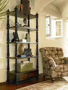 The Ernest Hemingway Furniture Collection Lake Victoria Etagere