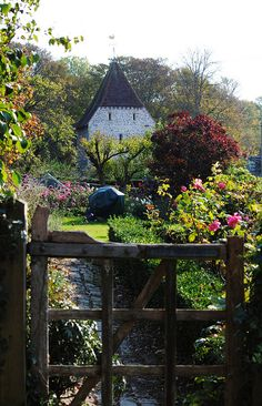 Westdean, East Sussex - the most beautifully restored Victorian kitchen garden - inspirational