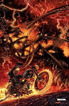 Ghost Rider: Road To Damnation - Comics by comiXology Comic Book Characters, Comic Movies, Marvel Characters, Comic Books Art, Comic Art, Marvel Comics Art, Bd Comics, Marvel Heroes, Anime Comics