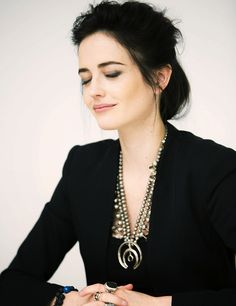 Eva Green at the 300: Rise of an Empire press conference at the Four Seasons Hotel (04.03.14)