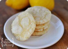 Lemon crinkles! So good!