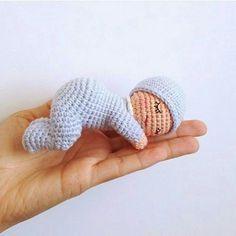 Amigurumi Örgü Minik Bebek Biblo Modeli Yapılışı ( Anlatımlı ) – Örgü, Örgü Modelleri, Örgü Örnekleri, Derya Baykal Örgüleri