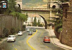 1965-AVENIDA  GUIPUZCOA -.,portal nuevo,.-murallas-