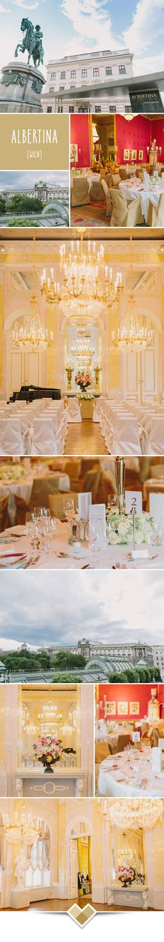 Kaiserlich heiraten in der Albertina in Wien… Albertina Wien, State Room, Europe, Museum, Rooms, Table Decorations, Landscape, Home Decor, Perfect Place
