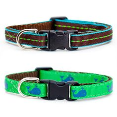 2 of our favorites- The Associate + Big Catch now On Sale on Fab.com! @Fab Shops @etsy #cats #catcollars