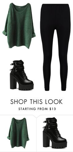 """""""Untitled #1647"""" by laura-27777 ❤ liked on Polyvore featuring Boohoo"""
