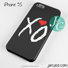 The Weeknd XO Love Phone case for iPhone 4/4s/5/5c/5s/6/6 plus