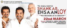 Shankar Ehsaan Loy Fund Raising Concert