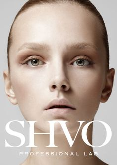 Make up brand SHVO brand identity design by tomorrow people