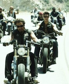 "Bikers scene from the movie ""Hell Ride"""