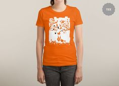 The Lonely Fox by Mateus Dalethese Quandt | Threadless
