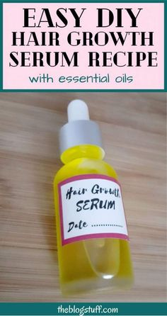 Easy DIY Hair Growth Serum Recipe With Essential Oils (It works for me!)
