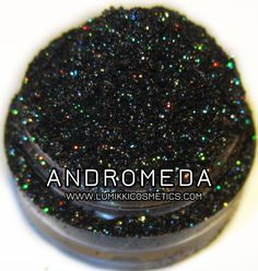 Andromeda Galactic Collection Galaxy Green Copper Black Glitter Eyeshadow Mica Pigment 5 Grams Lumikki Cosmetics on Etsy, $6.56 CAD