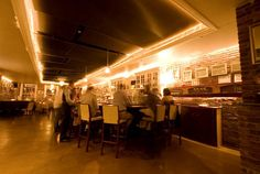Silver Lining -- a fantastic underground jazz bar in Tribeca with roomy tables and great cocktails
