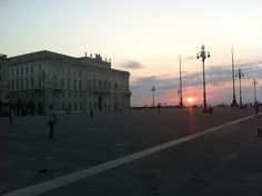 sunset #trieste