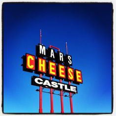 mars cheese castle in Wisconsin!