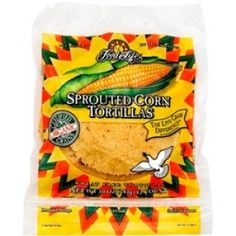 Organic Sprouted Whole Kernel Corn Tortillas