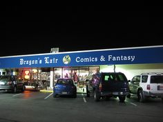 Board Game Group at Dragon's Lair in Austin, TX every Wednesday. Free and all are welcome!