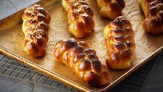 Challah bread is a delicious dish that can be enjoyed year round, and is as much a pleasure to look at as it is to eat.