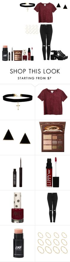 """""""it's funny how the tables turn. i'm sitting back, baby, watching you burn"""" by heythereperson25 ❤ liked on Polyvore featuring ASOS, Monki, Lord & Berry, Butter London, Topshop, women's clothing, women, female, woman and misses"""