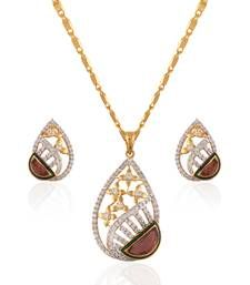 Buy Heena Contemporary Collection Pendent Set >> HJPN149 << Pendant online