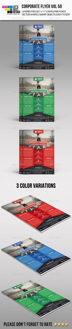 Flyer Template Green, Advertising and Flyer template - For Sale Ad Template