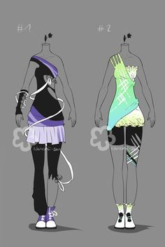Fab' Outfit Auctions - closed by Nahemii-san on DeviantArt