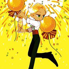cuckoo — happy new year Character Inspiration, Character Art, Character Design, Cookie Run, Cookie Time, New Year Anime, Happy New Year 2018, Pretty Art, Sketches