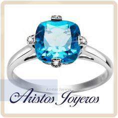 ¿ Aun pensando en el anillo de compromiso? Ven y conoce los diseños que te podemos ofrecer en la piedra del mes ...
