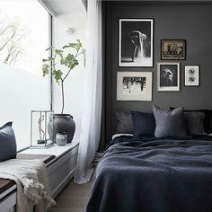 Dark Inspiring Masculine Interior Bedroom Bedroom Inspo Bedroom