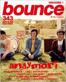 bounce 343号 - andymori