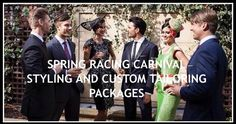 #Australia . With 3 years of recognition and awarded work I'm preparing some great packages for the ones who like to step out in style for this unique event. 2016 Spring Racing Carnival. Fashions on the field completions start in September.... Get you Styling and Attire ready.  Initial consultation available now. Book yours.  Eduardo Xavier - Fashions-On-The-Field Winnings: 2012 Derby Day - Melbourne - 1st & 3r Place 2013 Guineas Cup - Caulfield - 1st Place  2 Top 10 2013 Derby Day…