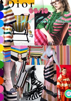 "© Mirella Bruno Propagating Patterns and Trends since 1987. ""Deck Chair Stripe"" SS/18. http://cargocollective.com/mirella-bruno-print-pattern-trend-designs/Trends"