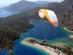 Ölüdeniz Visit Turkey, Paragliding, Blue Lagoon, Beautiful Sky, Eastern Europe, European Travel, Surfboard, Istanbul, Scenery