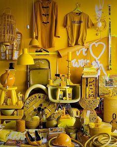 Styling: Fietje Bruijn Fotografie: Jeroen van der Spek. That's a lot of yellow!