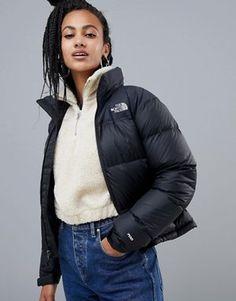 The North Face Womens 1996 Retro Nuptse Jacket in Black North Face Nuptse  Jacket bebe7a3b7