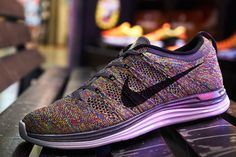 Nike Flyknit Lunar 1  – Multi-Color