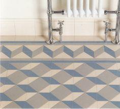 Art floor tiles bathroom traditional tile ceramic deco flooring styles r. Tile Art, Floor Art, Traditional Bathroom, Victorian Tiles, Art Deco Kitchen, Traditional Bathroom Tile, Flooring, Tile Floor, Traditional Tile