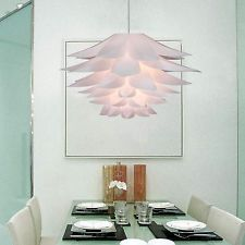 Modern Acrylic Bloom Chandelier Ceiling Lamp Pendant Light Fixture Flush Mount