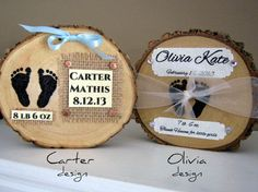 BABY KEEPSAKE GIFT Welcome Baby Sign Personalized by HudsonBlockCo, $28.00