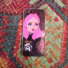 NEW Punk Princess iPhone Case Super edgy and cute pink princes iPhone cases for 5/5s! Brand new in packaging! Flexible plastic. Accessories Phone Cases