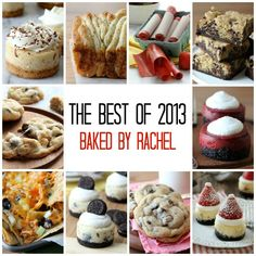 The Best Recipes of 2013 from bakedbyrachel.com