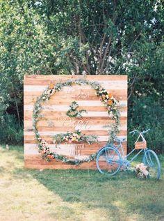 Ideas originales de Photocall para Boda | El Blog de una Novia | #boda #fiesta #invitados