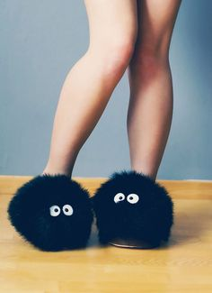 """Des chaussons """"Noiraudes"""" (ou boules de suie)"""